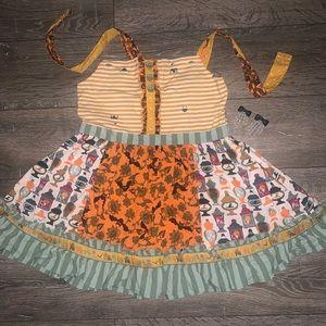 Matilda Jane Trick or Treat knot top